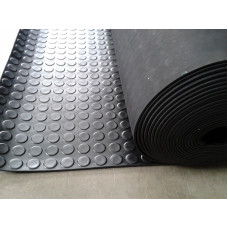 Rubber Floor - Stud Matting 3mm Thick 1.2m wide